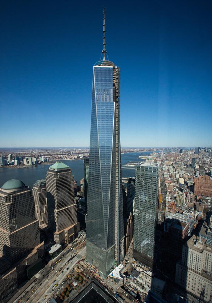 1 WTC - Выше крыши – небоскребы Нью-Йорка