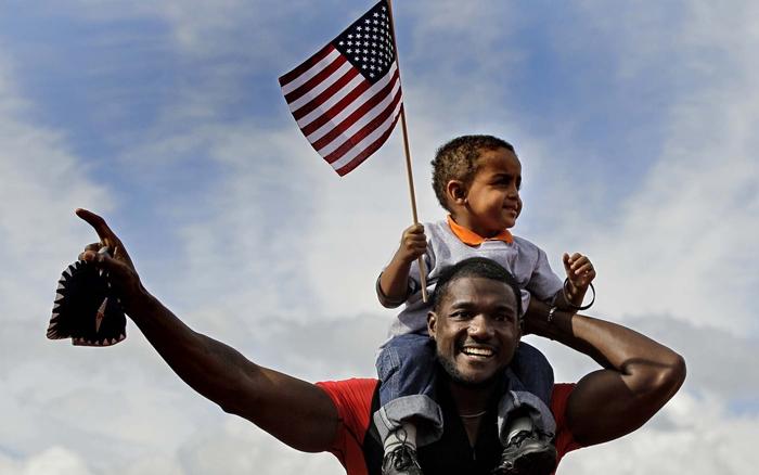 Afroamerikatsy - Население США: численность, состав, плотность