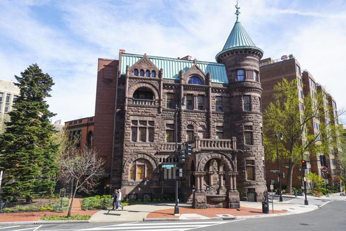 Dom muzej Heurich - Достопримечательности Вашингтона: музеи