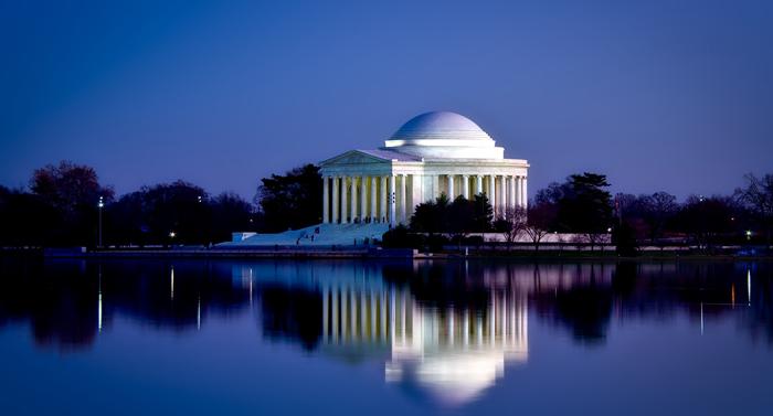Memorial Dzheffersona - Достопримечательности Вашингтона: музеи