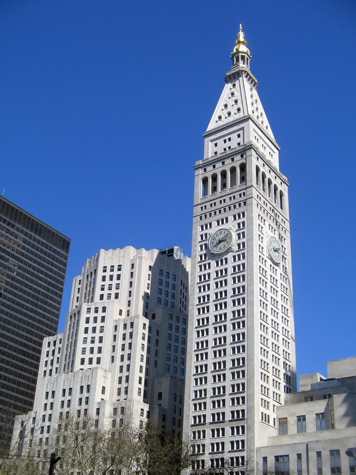 Metropolitan Life Tower - Выше крыши – небоскребы Нью-Йорка