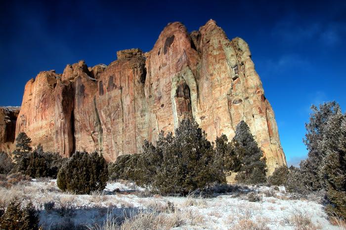 Natsionalnyj monument El Morro - Штат Нью-Мексико – «земля очарования»
