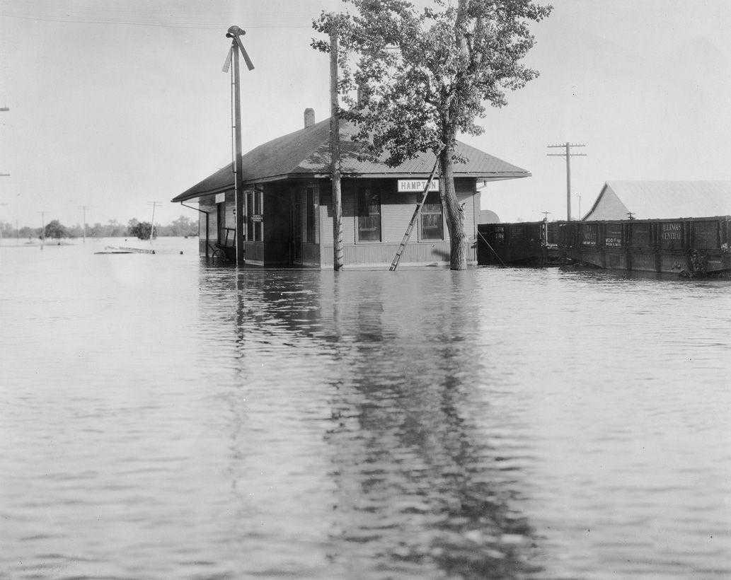 Navodnenie 1927 goda - Природные катаклизмы: наводнение в США
