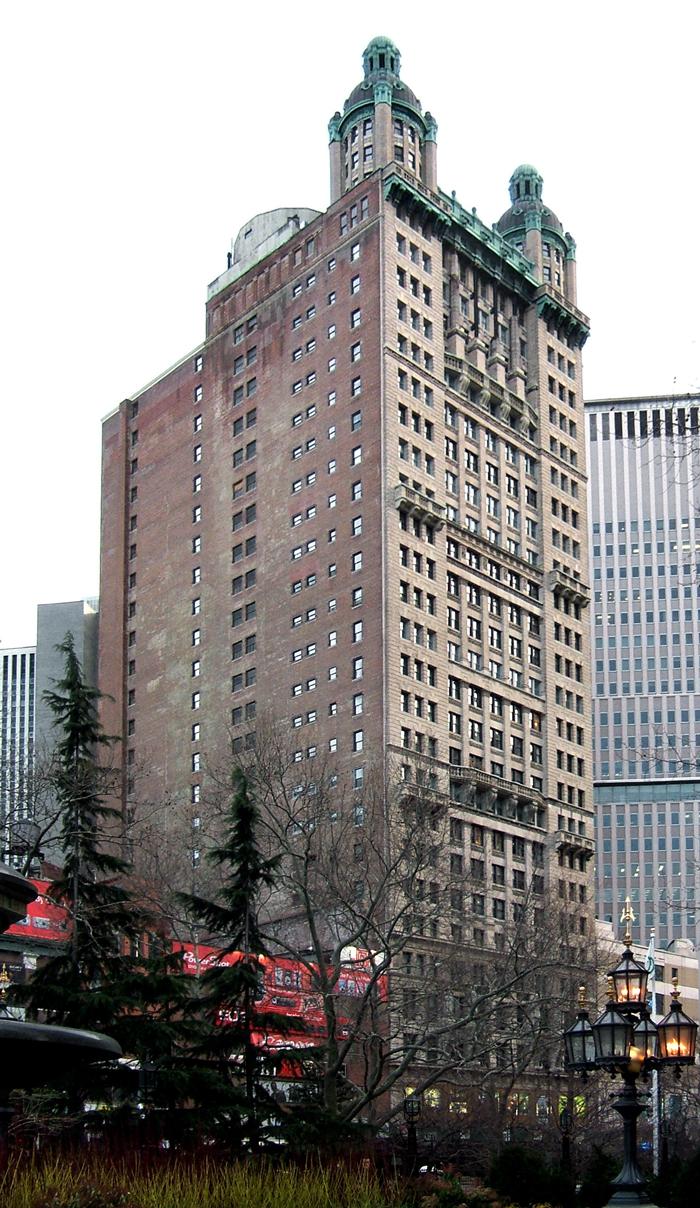 Park Row Building - Выше крыши – небоскребы Нью-Йорка