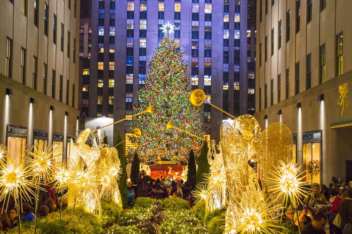 Rozhdestvo v Nyu Jorke - Рождество в Нью-Йорке - сказочный праздник