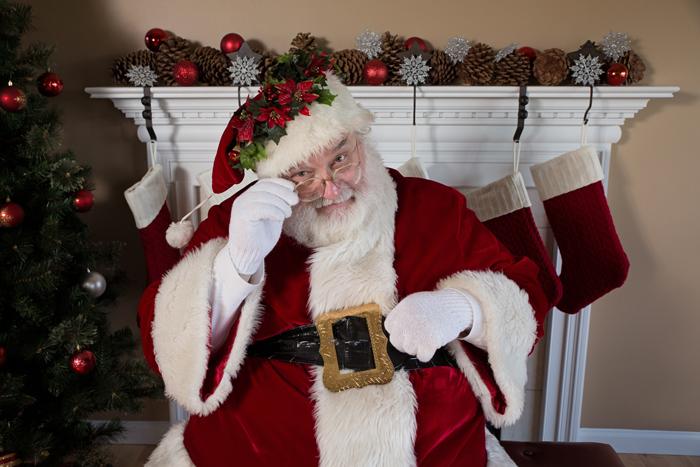 Santa Klaus i zimnie predstavleniya - Рождество в Нью-Йорке - сказочный праздник