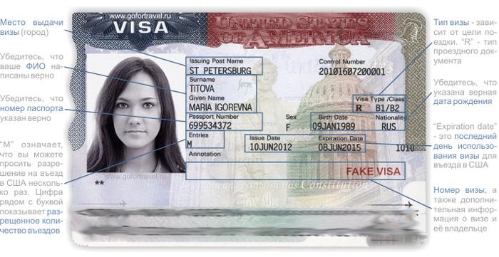 Sroki dejstviya viz - Визы в США: виды, на какой срок выдаются
