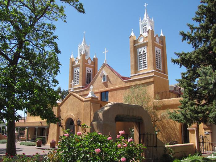 TSerkov San Felipe de Neri - Штат Нью-Мексико – «земля очарования»