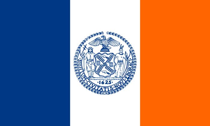 Flag Nyu Jorka - Нью-Йорк сегодня