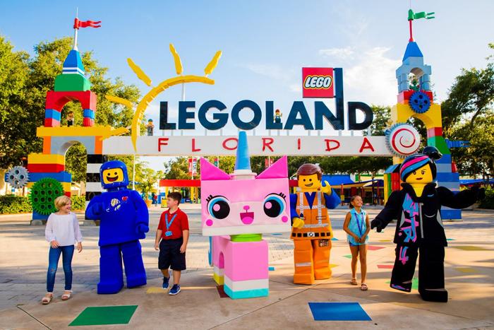 Legoland - Лучшие парки развлечений в Орландо, штат Флорида