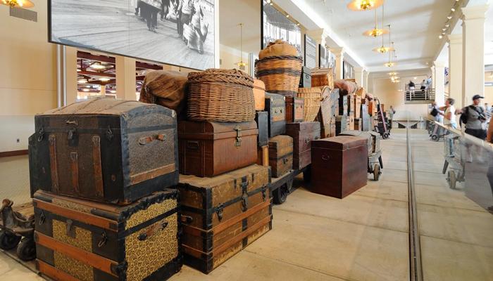 Muzej immigratsii - Остров Эллис в Нью-Йорке