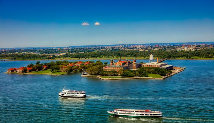Ostrov Ellis v Nyu Jorke - Остров Эллис в Нью-Йорке