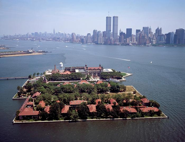 Ostrov Ellis - Остров Эллис в Нью-Йорке