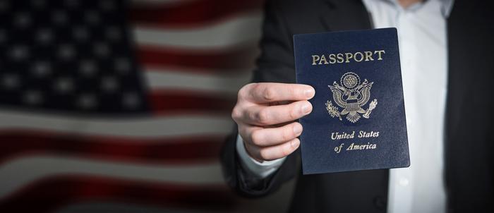 Passport book number