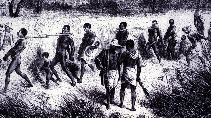 Afrikanskie raby - Первые поселенцы Америки