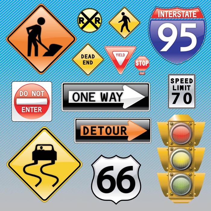 Dorozhnye znaki - Правила дорожного движения в США: привычное и необычное