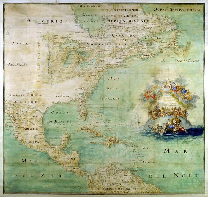 Frantsuzskaya kolonizatsiya Ameriki - Первые поселенцы Америки