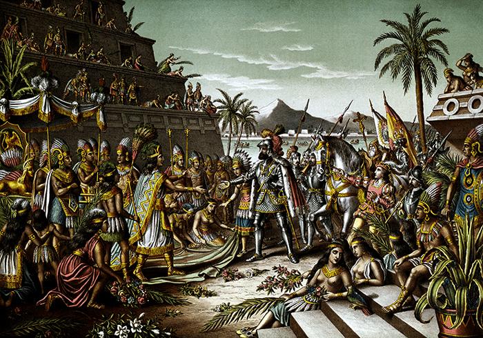 Ispanskij period v zavoevanii Ameriki - Первые поселенцы Америки