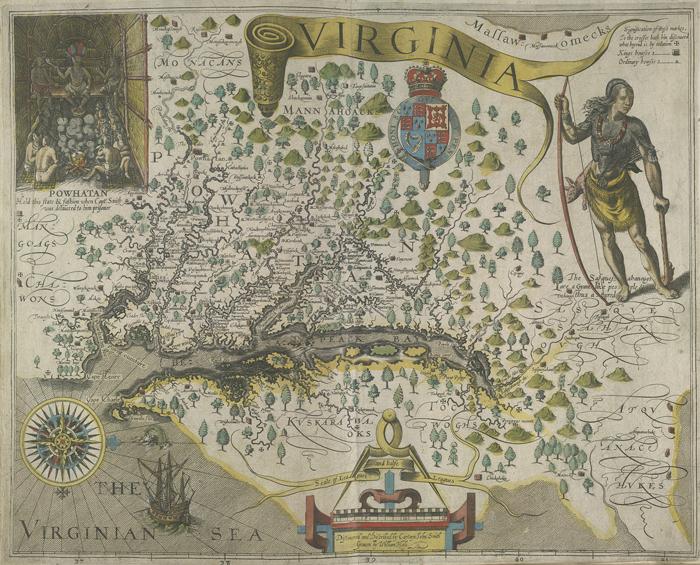 Koloniya Virginiya - Первые поселенцы Америки