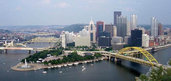 Mosty Pittsburga - Питтсбург, Пенсильвания: экономика, история и основные достопримечательности