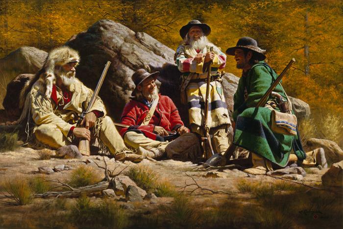 Pervye poselentsy Ameriki - Первые поселенцы Америки