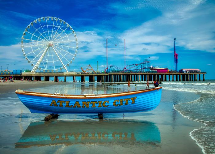 Plyazhi Nyu Dzhersi - Самые лучшие пляжи США