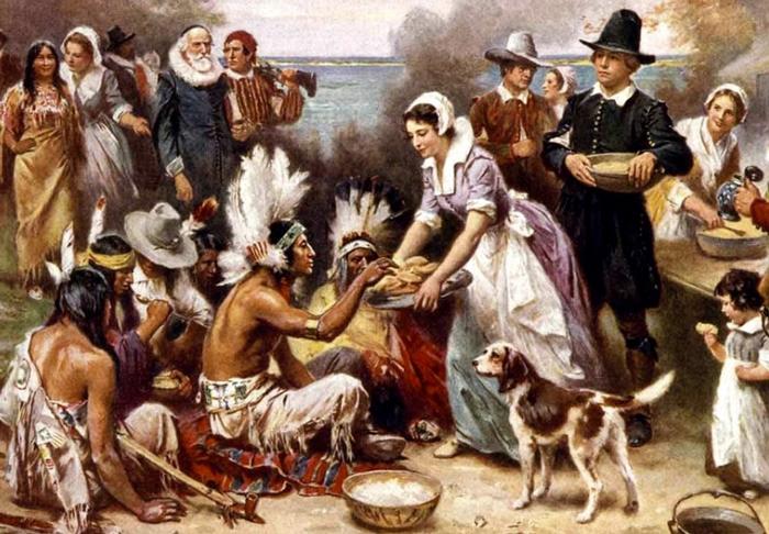 Sotsialnyj sostav amerikanskogo obshhestva - Первые поселенцы Америки