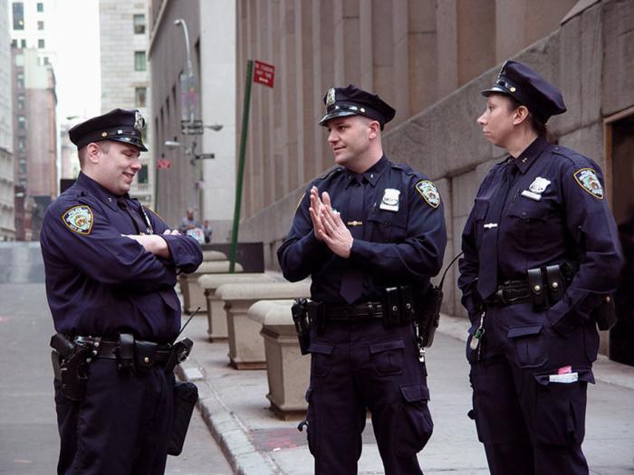 Osobennosti politsii SSHA - Полиция США