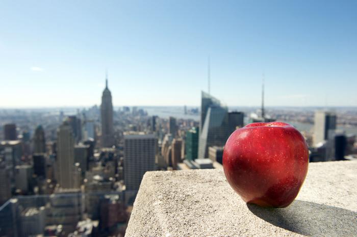 Pochemu Nyu Jork nazyvayut Bolshim yablokom - Почему Нью-Йорк называют Большим яблоком