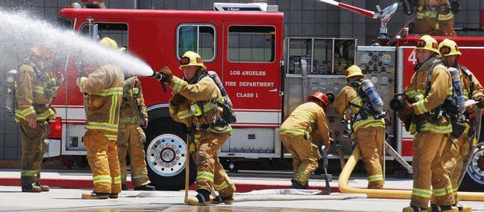Pozharnaya ohrana - Как работает пожарная служба в США?