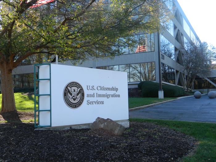 Службу гражданства и иммиграции