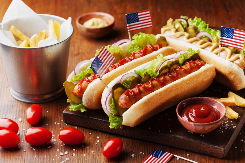 Den Hot doga - Праздники в США