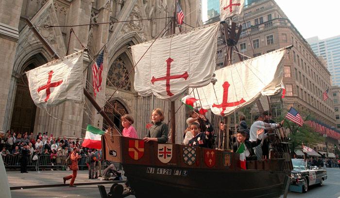 Provedenie Dnya Kolumba - Праздники в США