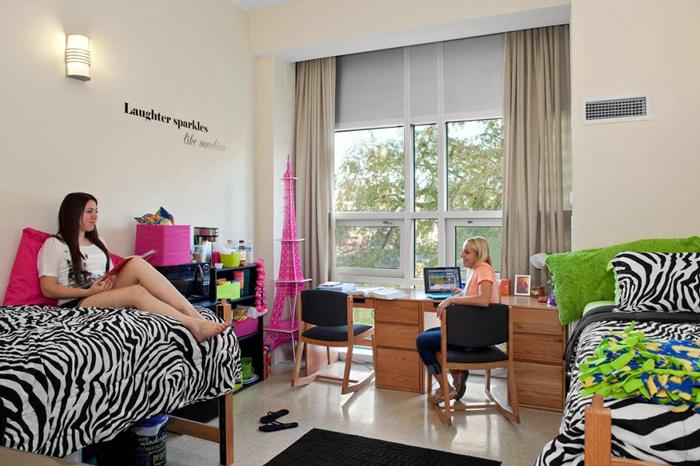 Проживание в общежитиях
